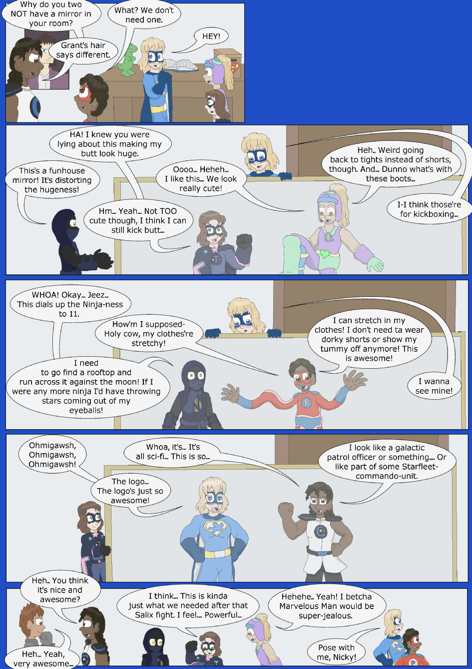 Based On A Blue Story- Page 5