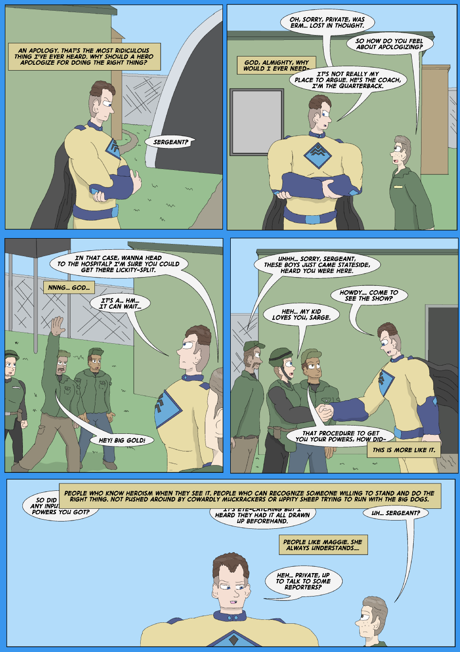 Tangled Up In Blue, Page 14