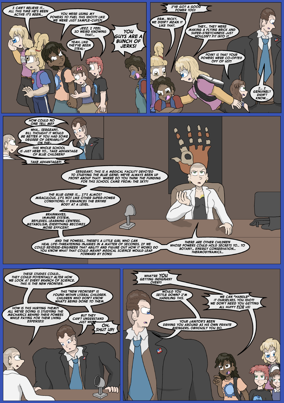 Showing Your Blue Colors- Page 8