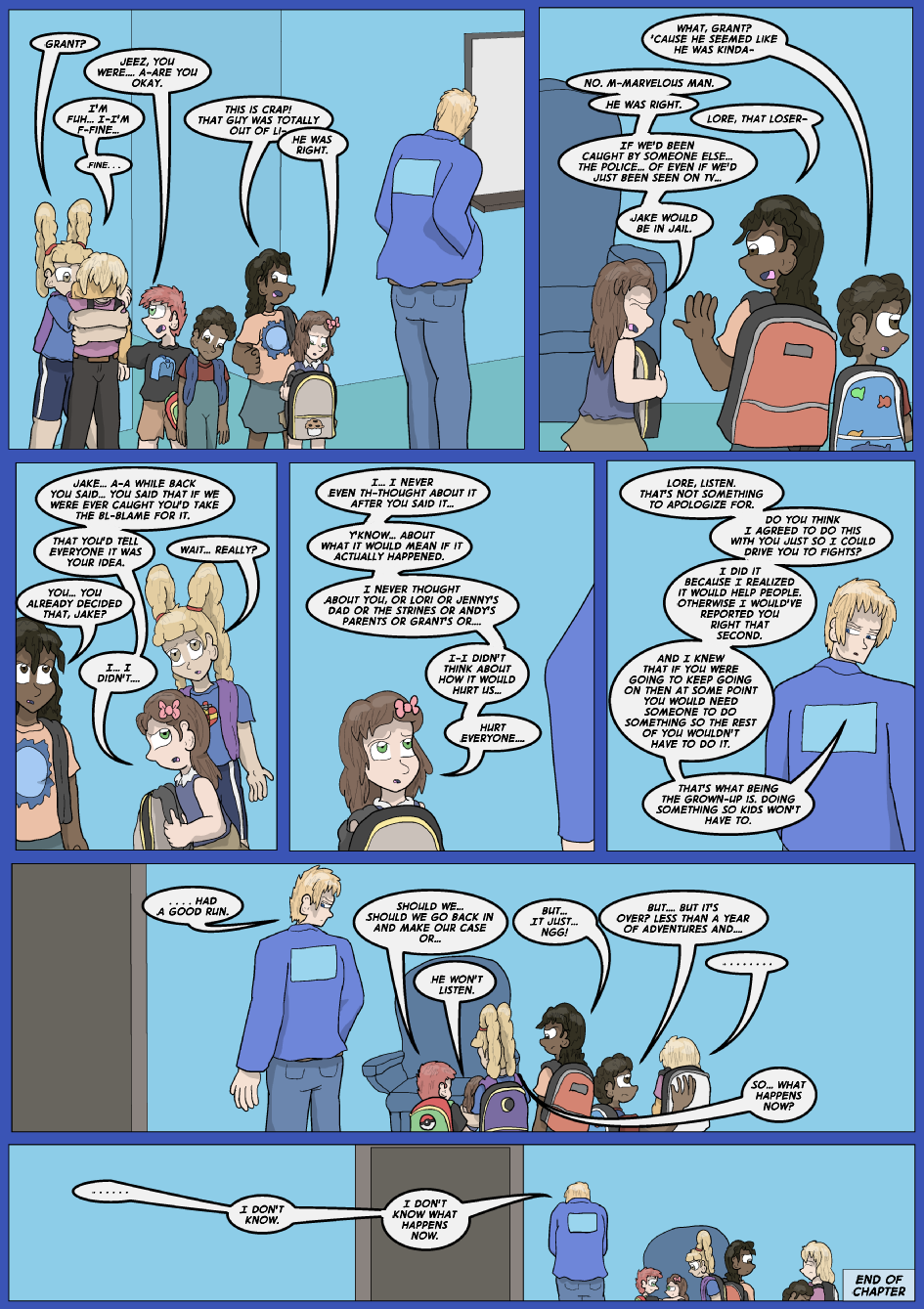 Showing Your Blue Colors- Page 17