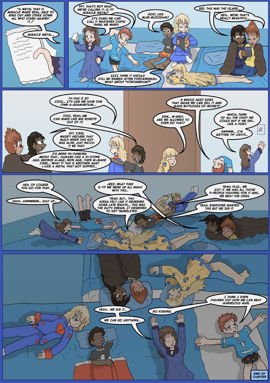 The Lost Spell of Baron Fontainebleu, Page 42
