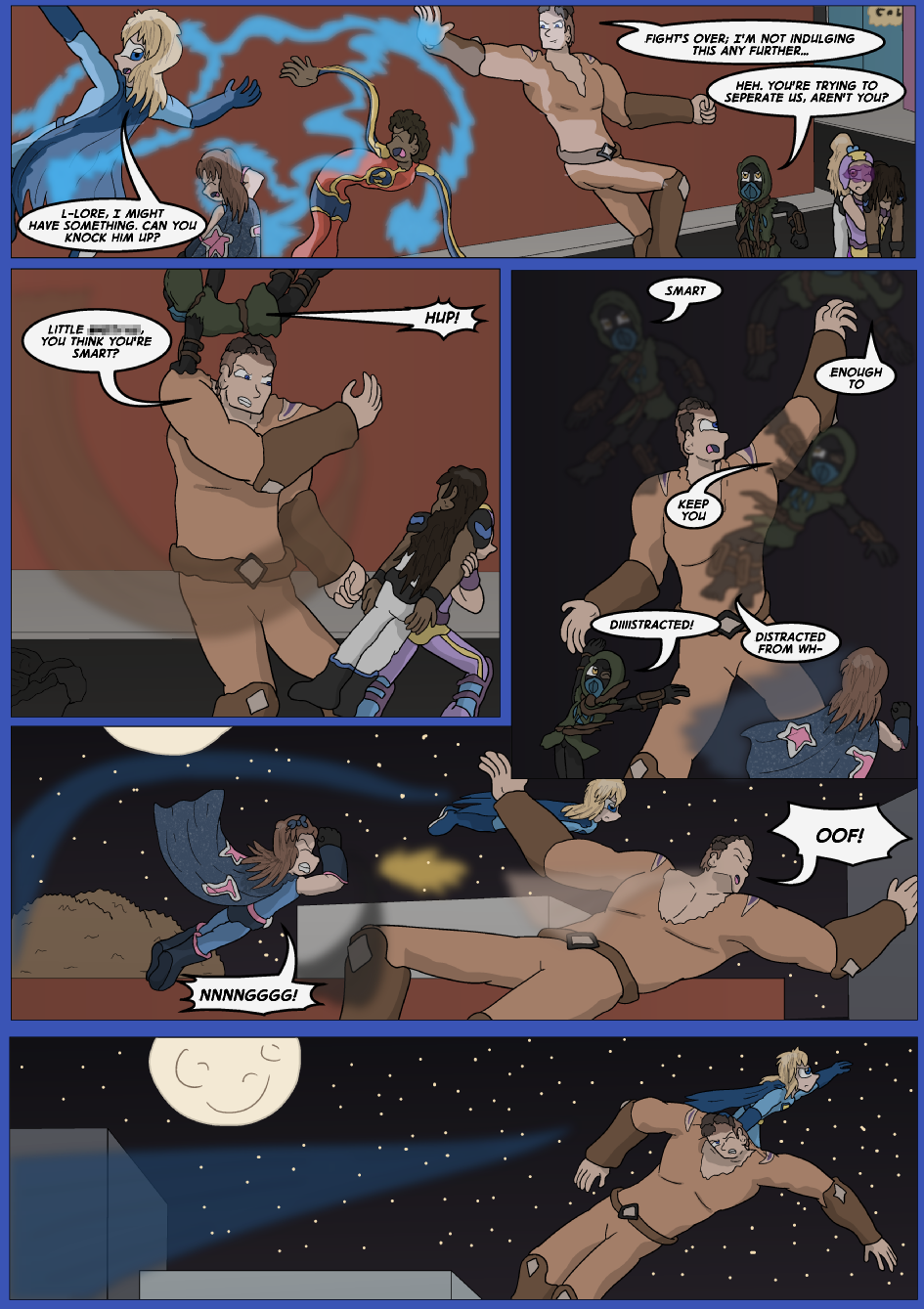 Blue vs. Gold, Page 30