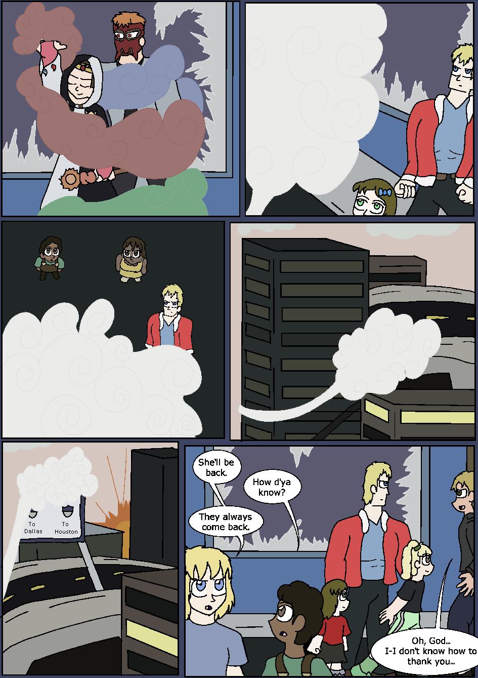 Heroes Wear Blue, Page 34
