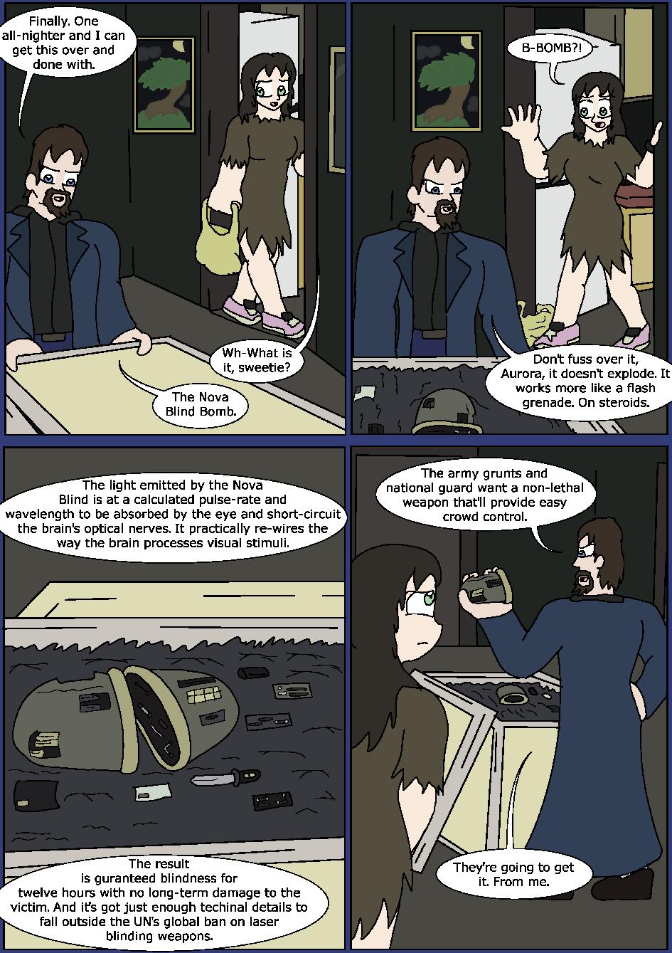 Shining Blue Light, Page 15