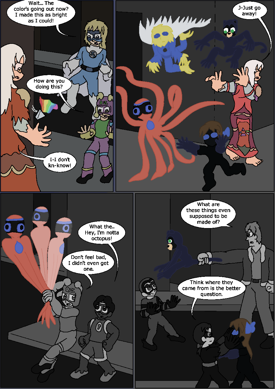 Shining Blue Light, Page 30
