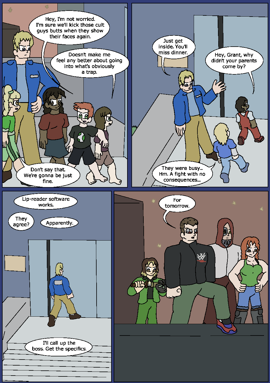 Blue Bloodlines, Page 20