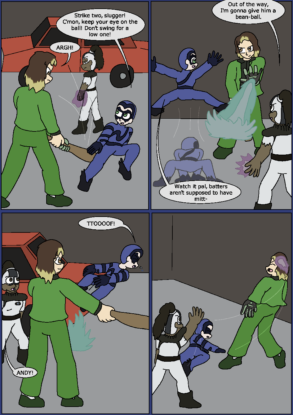 Best Served Blue, Page 17