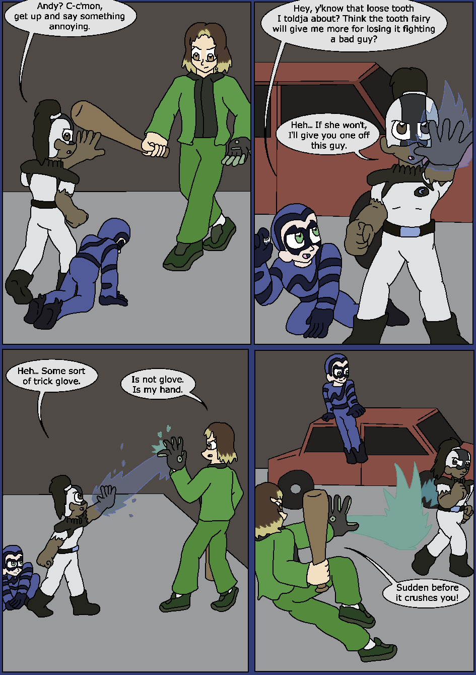 Best Served Blue, Page 20