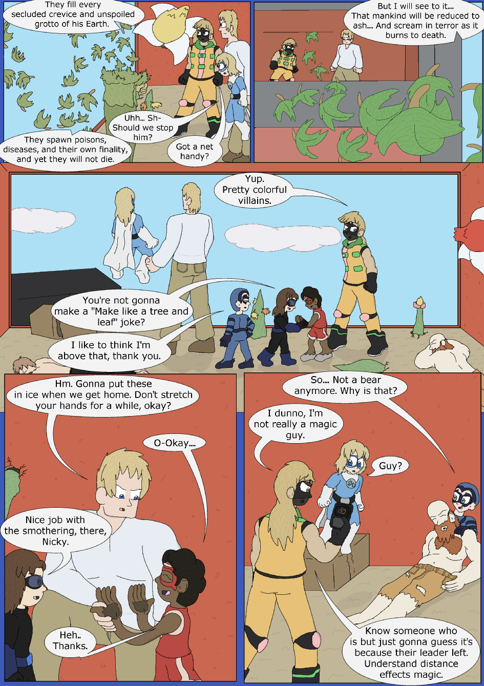 Blue Skies With A Chance Of Rayne, Page 28