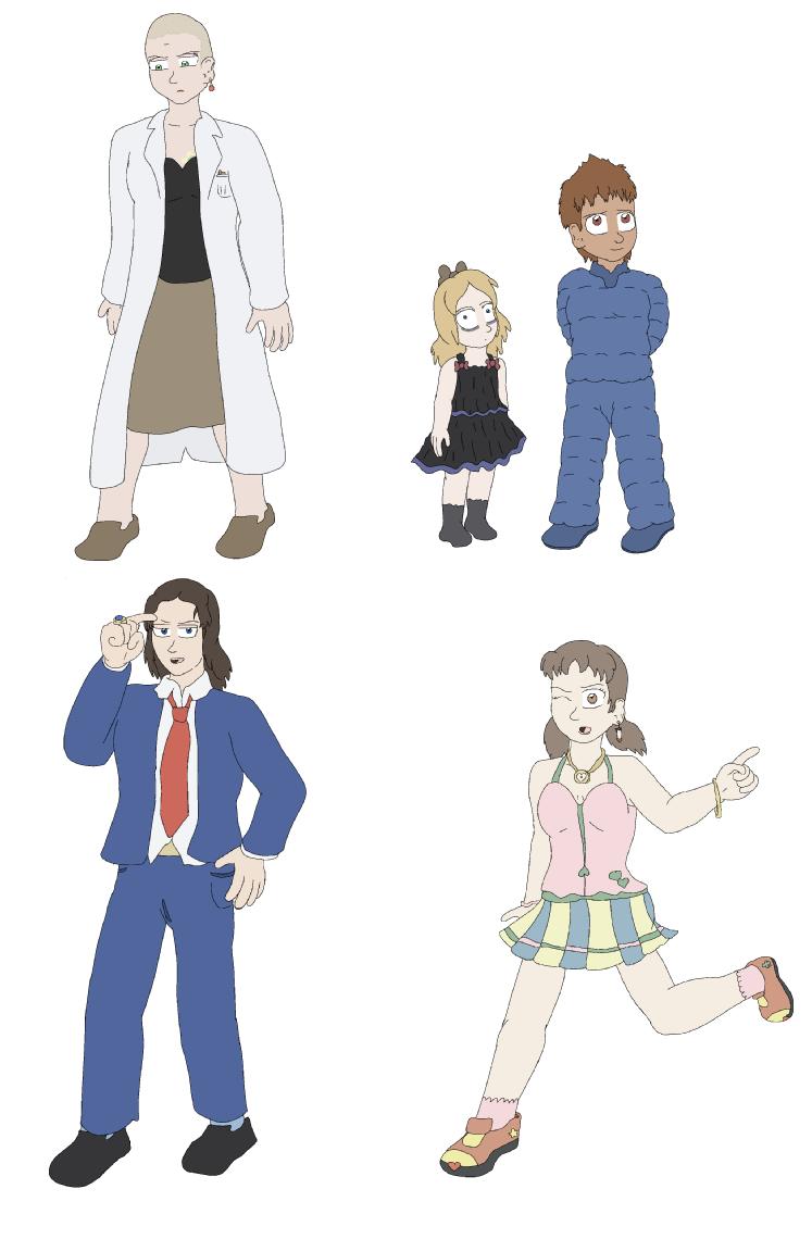 Re-Designs 1: Familiar Faces