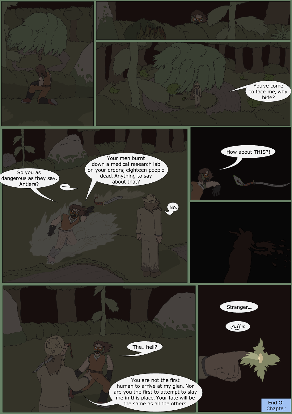Blue Debut, Page 20