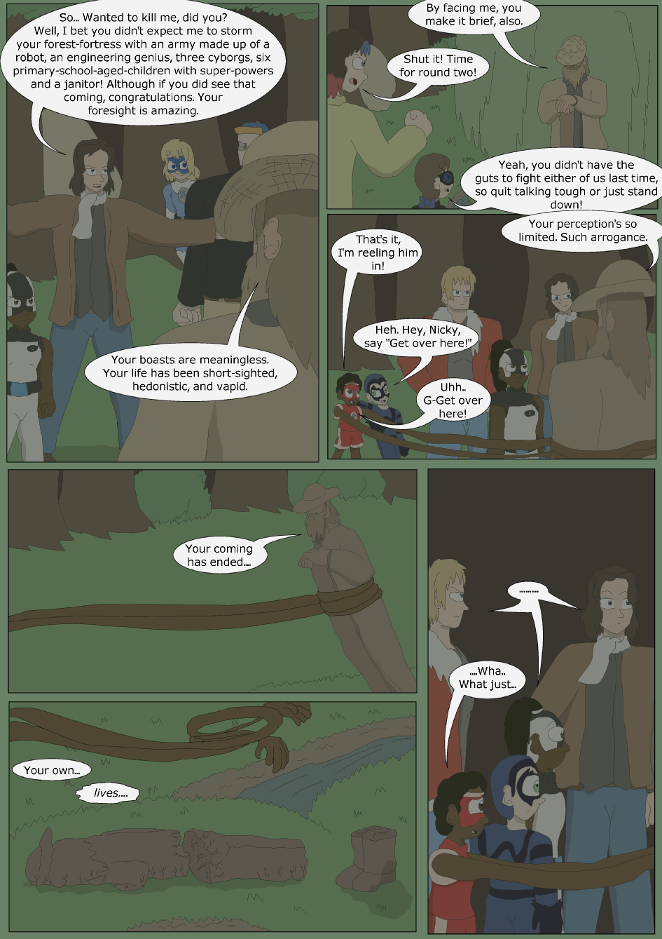 Blue vs. Green, Page 27