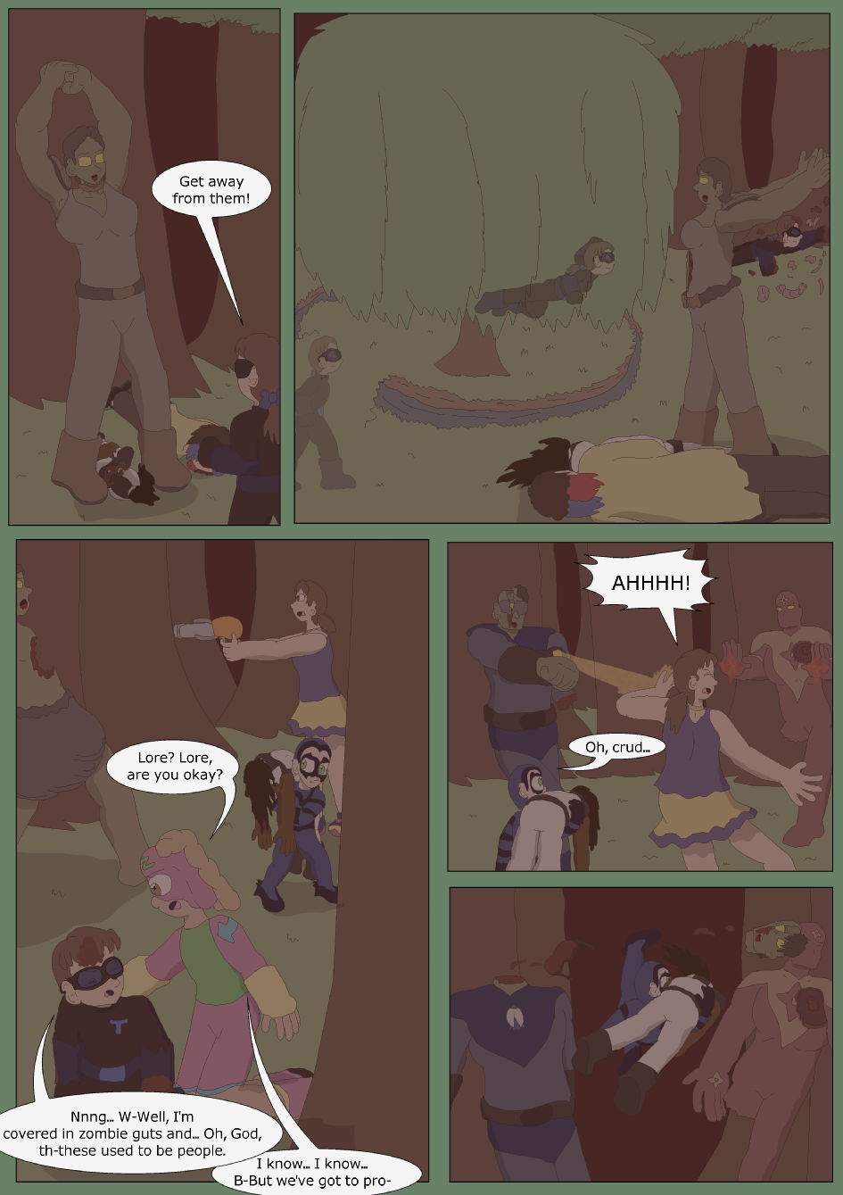 Blue vs. Green, Page 37