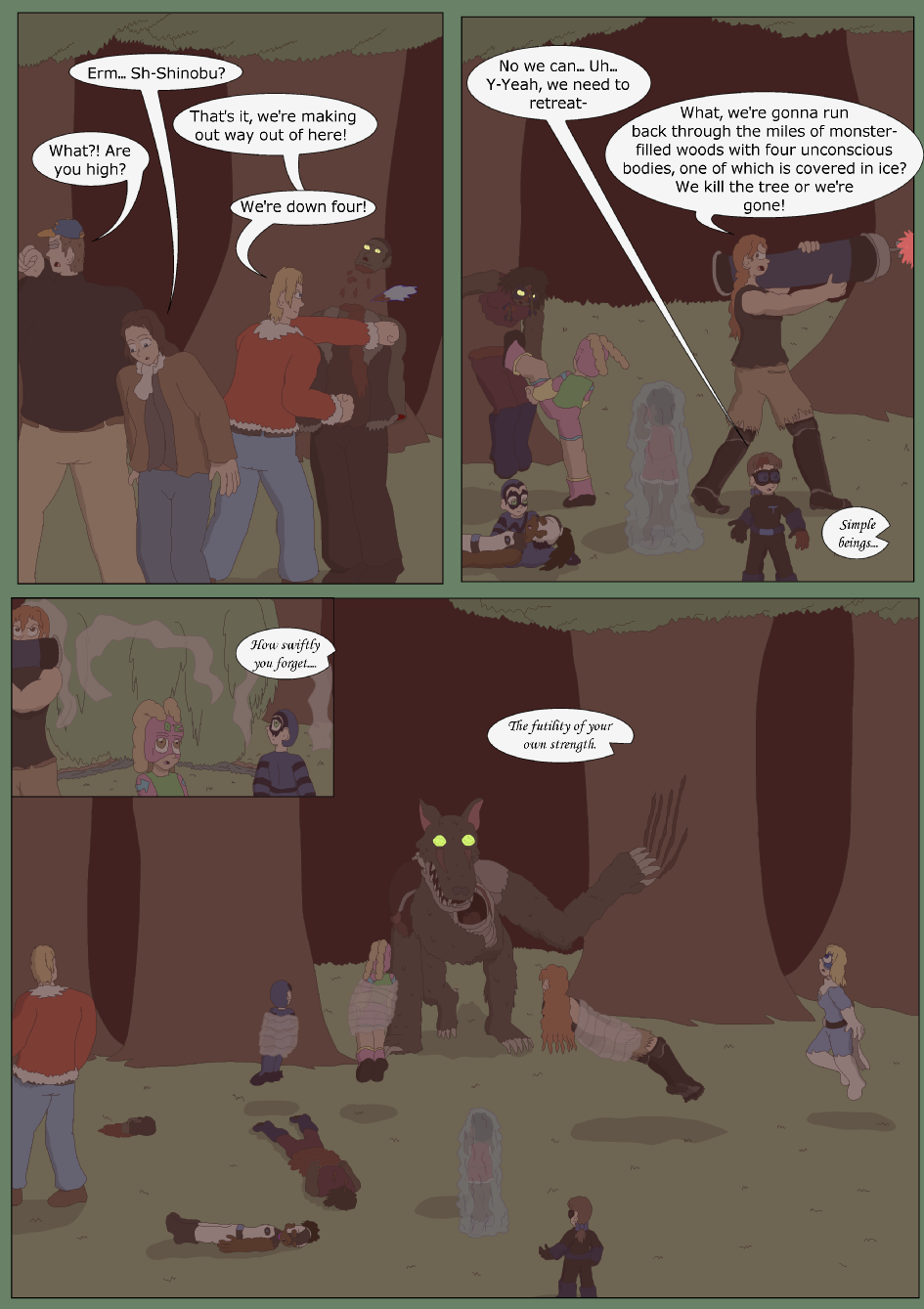 Blue vs. Green, Page 38