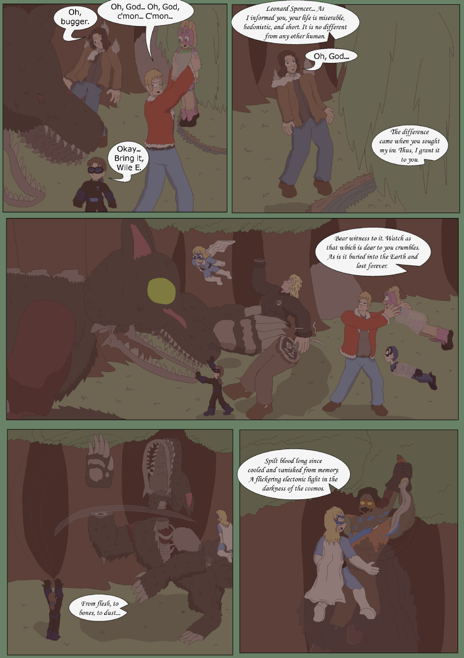 Blue vs. Green, Page 39